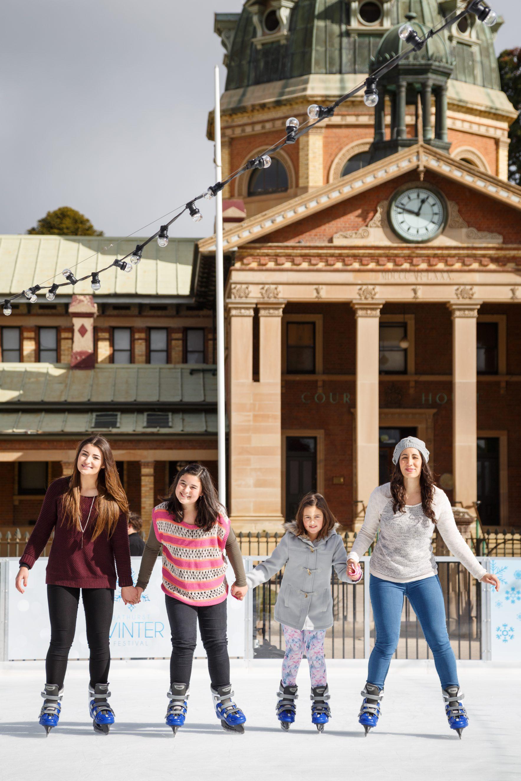 2016 – Daytime Ice Skating Promo