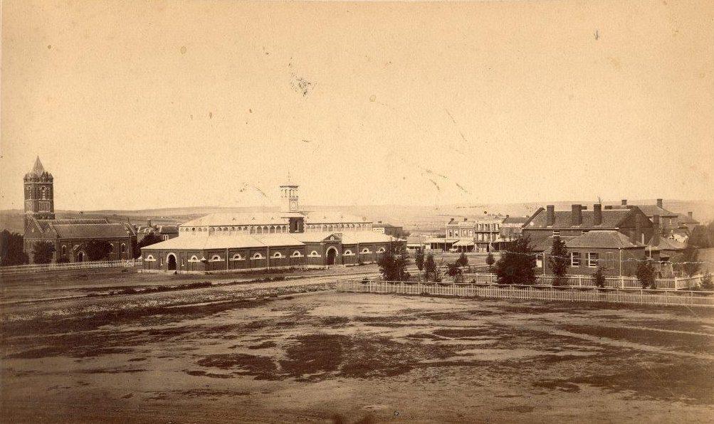 Old Market Square Building - 1869