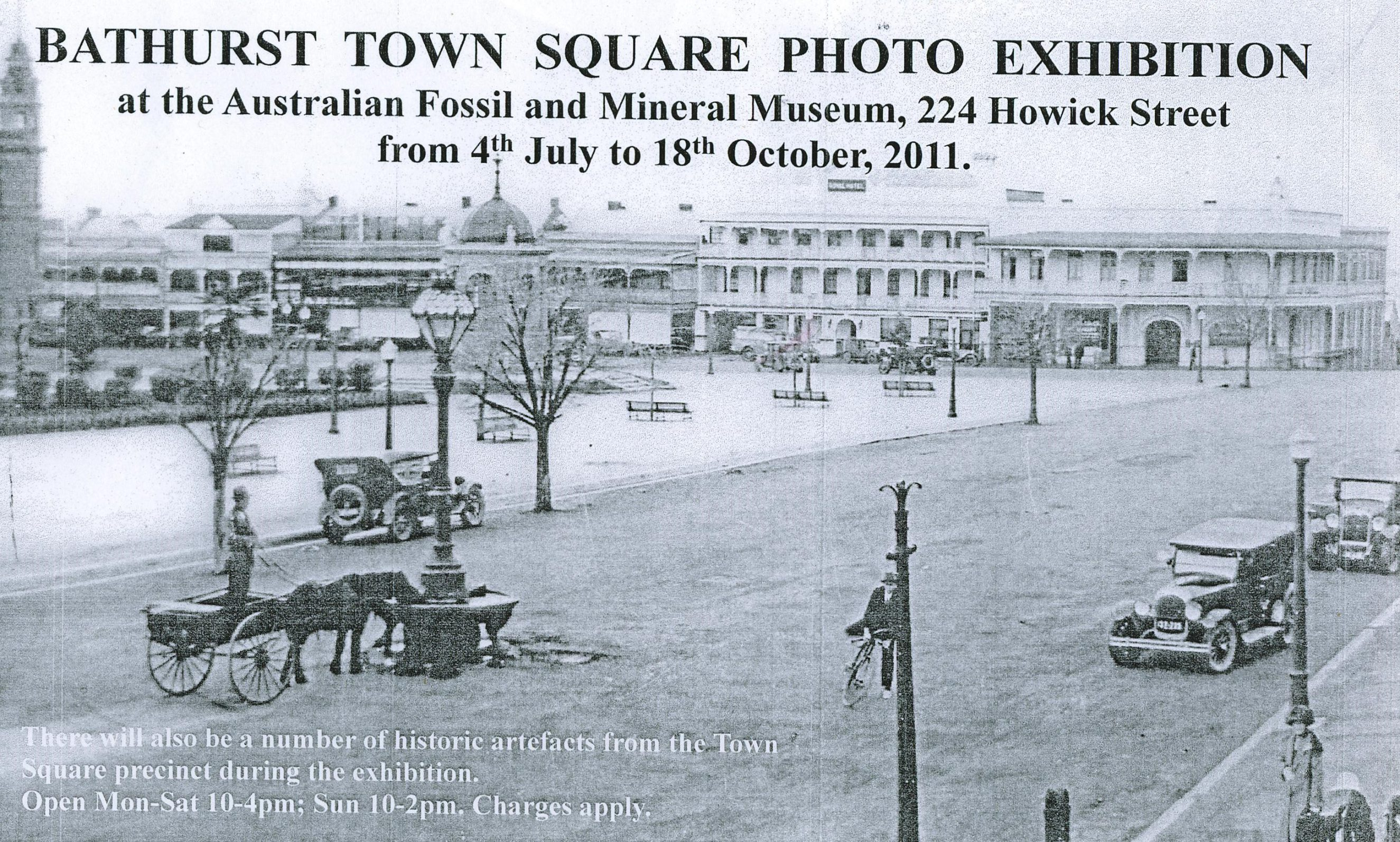 Bathurst Town Square Photograph Exhibition 2011 - Horse Trough, Russell Street