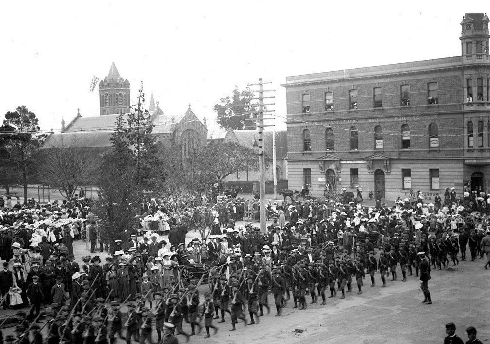 Bathurst Cadets - Empire Day 1909