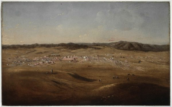 1847-1857 - Joseph Backler's landscape of Bathurst