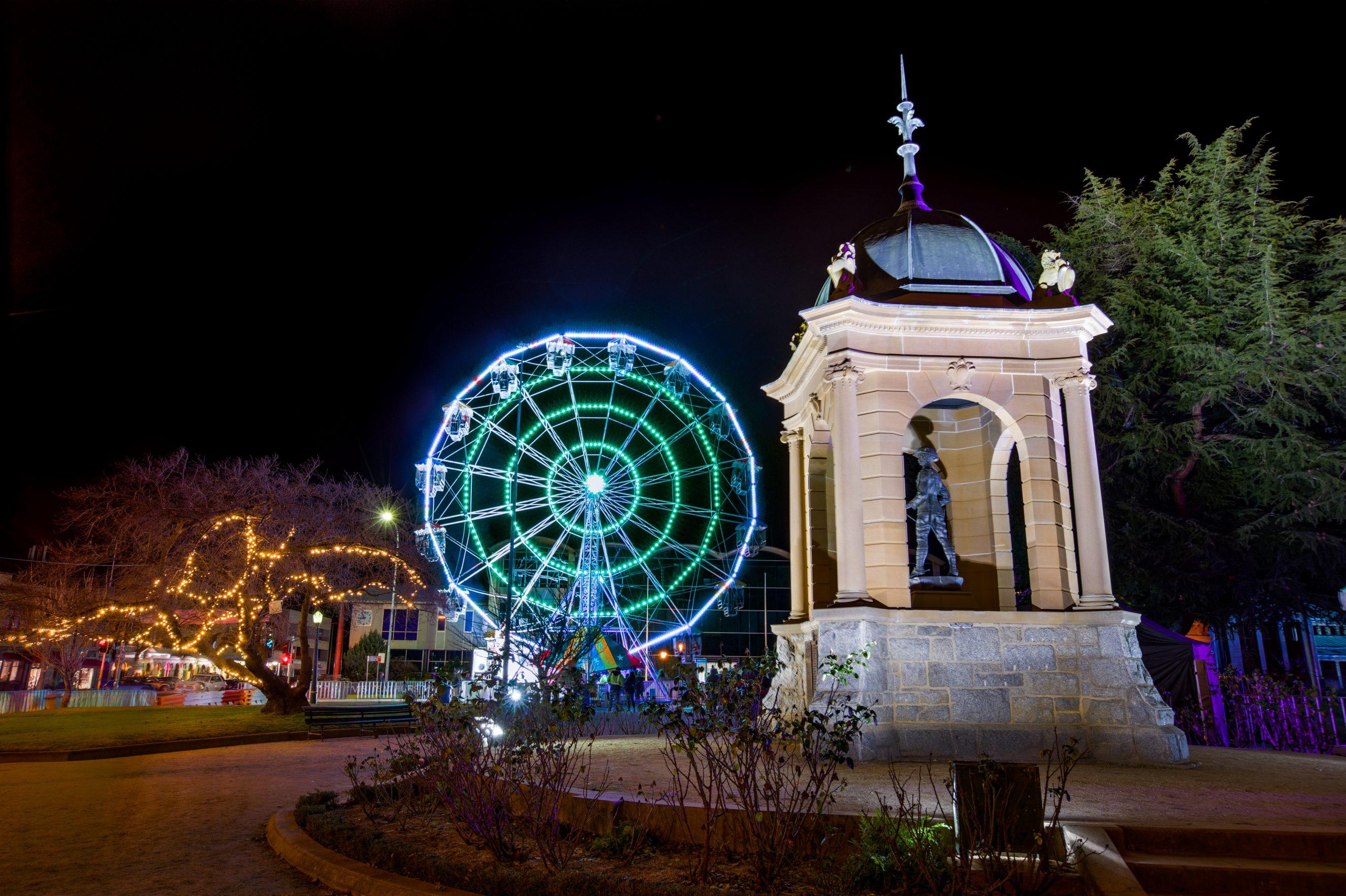 2016 – South African Boer War Memorial and Ferris wheel